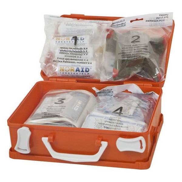 Bilde av Noraid Liten Førstehjelpskoffert med refillsystem