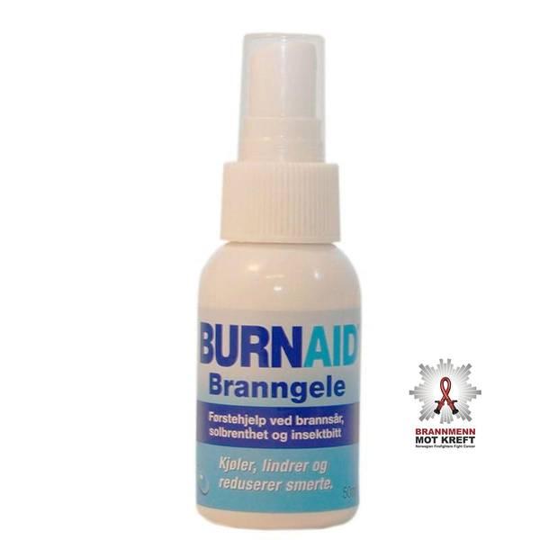 Bilde av Burnaid Branngele pumpeflaske 50ml