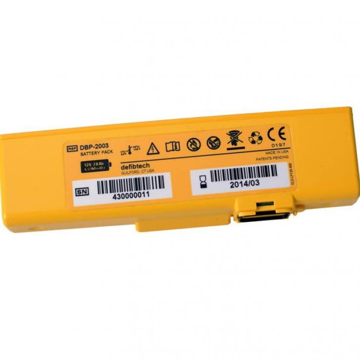 Lifeline VIEW/PRO Batteri Lithium - 4 år