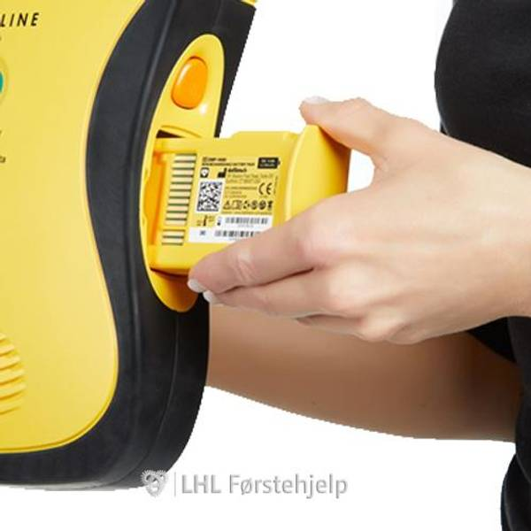Bilde av Lifeline AED Hjertestarter - Norsk, med 7 års