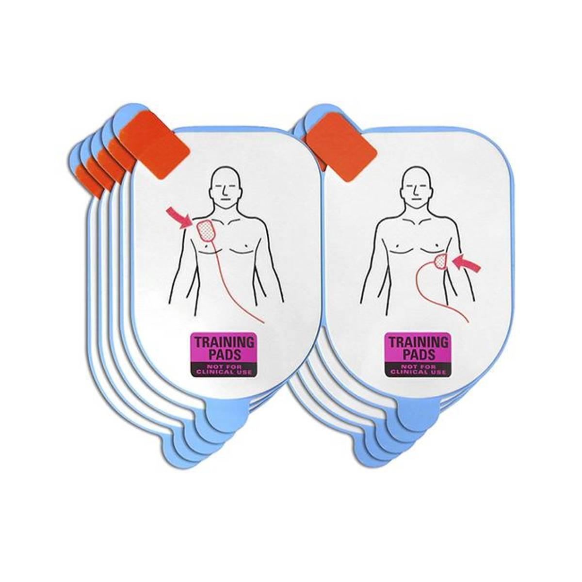 Lifeline View elektroder til trening u/kabel 5 pk